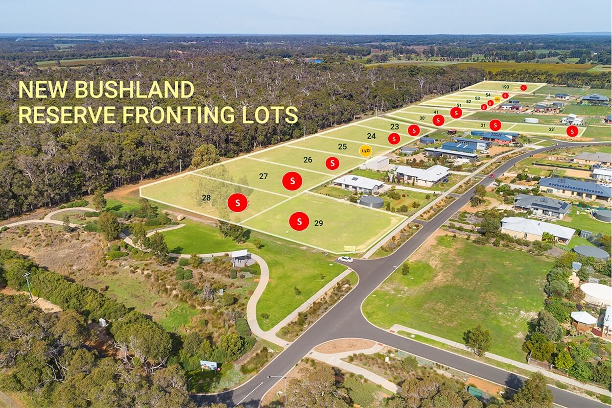Reserve on Redgate Release Stage 4 Aerial A