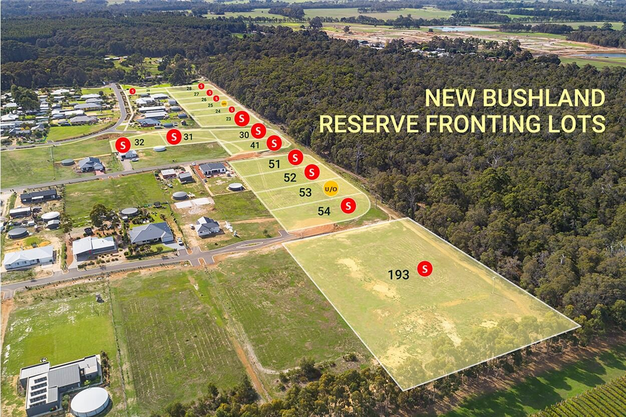 Reserve on Redgate Release Stage 4 Aerial B
